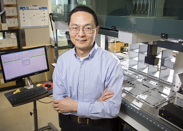 Professor Huimin Zhao, Steven L. Miller Chair of Chemical and Biomolecular Engineering